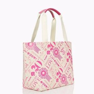 Kate Spade Things We Love Anniversary Tote Canvas